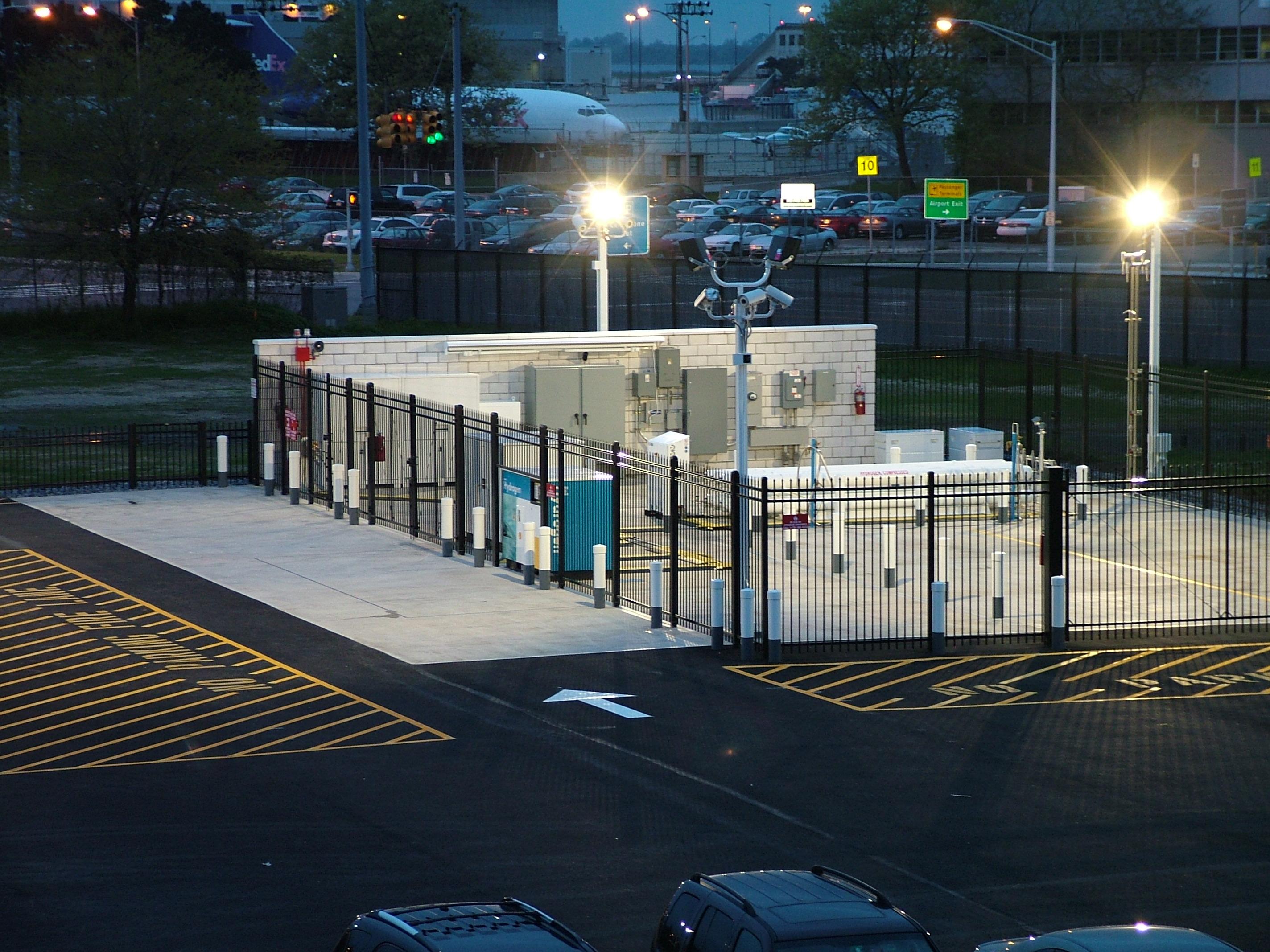 JFK Hydrogen Filling Station